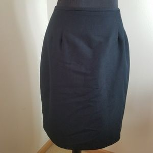 Briggs Midi Black Skirt With Built in slip